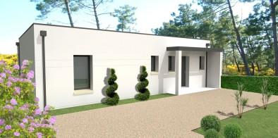 Terrain vend e satov achat terrain pour construction for Porche maison moderne