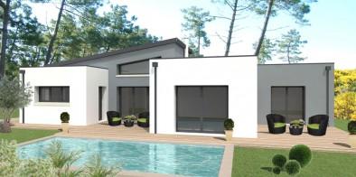 Terrain vend e satov achat terrain pour construction maison en vend e for Petite maison contemporaine toit plat