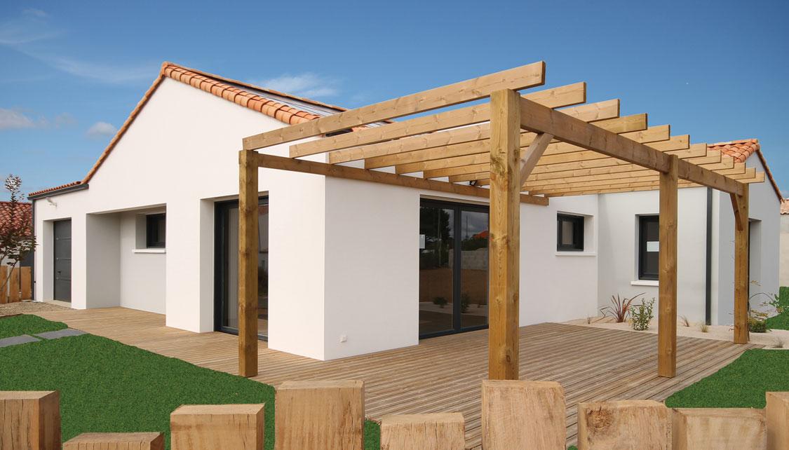 Réalisation d'une maison éco-responsable par le constructeur SATOV