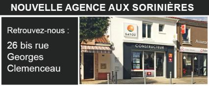 Nouvelle agence groupe SATOV aux Sorinières