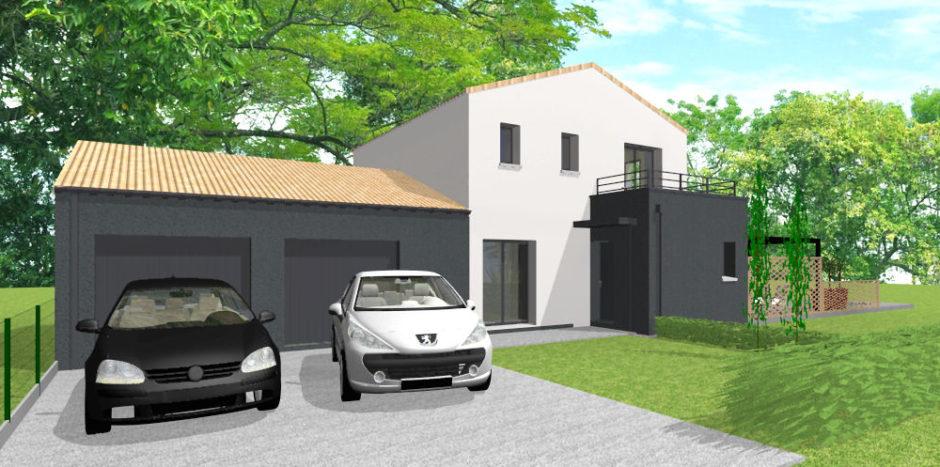 projet maison SATOV DAUSSIN