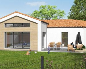 Construction de maison sur-mesure façade bois