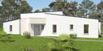 Maison contemporaine satov